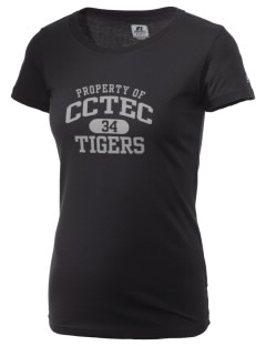 Cumberland County Technical Education Center Tigers  Russell Women's Campus T-Shirt