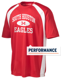 South Houston Elementary School Eagles Men's Dry Zone Colorblock T-Shirt