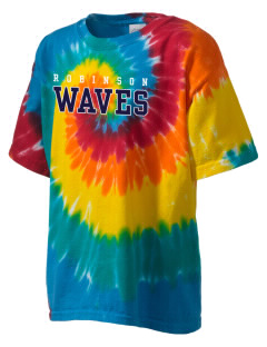 Robinson Elementary School Waves Kid's Tie-Dye T-Shirt
