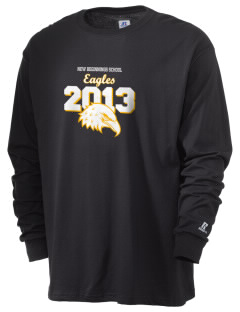 New Beginnings School Eagles  Russell Men's Long Sleeve T-Shirt