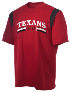 Wimberley High School Texans Holloway Men's Rush T-Shirt