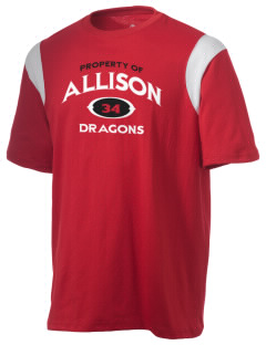 Allison Elementary School Dragons Holloway Men's Rush T-Shirt
