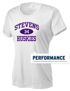 Stevens Elementary School Huskies Women's Competitor Performance T-Shirt
