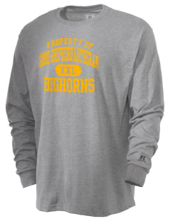 Good Shepherd Lutheran School Bighorns  Russell Men's Long Sleeve T-Shirt