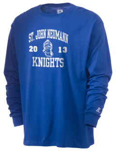 Saint John Neumann School Knights  Russell Men's Long Sleeve T-Shirt