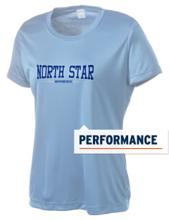 North Star Elementary School Huskies Women's Competitor Performance T-Shirt