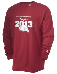 Chets Creek Elementary School Eagles  Russell Men's Long Sleeve T-Shirt