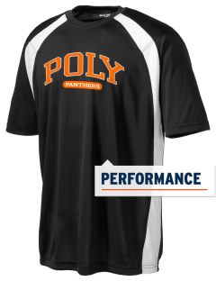 Polytechnic School Panthers Men's Dry Zone Colorblock T-Shirt