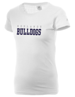 Redlands Adventist Academy Bulldogs  Russell Women's Campus T-Shirt