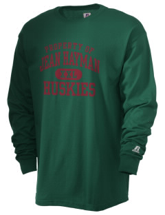 Jean Hayman Elementary School Huskies  Russell Men's Long Sleeve T-Shirt