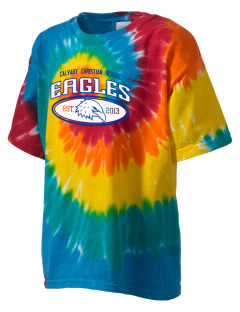 Calvary Christian School Eagles Kid's Tie-Dye T-Shirt