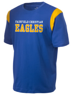 Fairfield Christian School Eagles Holloway Men's Rush T-Shirt