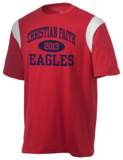 Christian Faith School Eagles Holloway Men's Rush T-Shirt