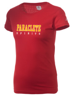 Paraclete High School Spirits  Russell Women's Campus T-Shirt