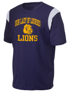 Our Lady Of Lourdes School Lions Holloway Men's Rush T-Shirt