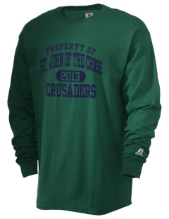Saint John Of The Cross School Crusaders  Russell Men's Long Sleeve T-Shirt