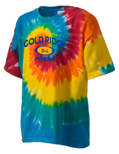 Gold Ridge Elementary School Miners Kid's Tie-Dye T-Shirt