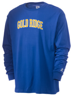 Gold Ridge Elementary School Miners  Russell Men's Long Sleeve T-Shirt