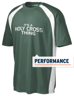 Holy Cross School Crusaders Men's Dry Zone Colorblock T-Shirt
