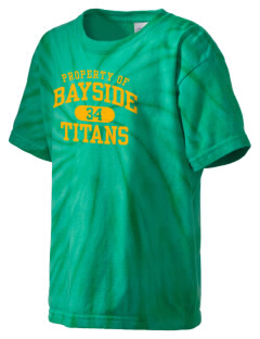 Bayside Community Day School Trojans Kid's Tie-Dye T-Shirt