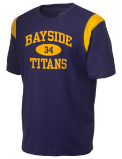 Bayside Community Day School Trojans Holloway Men's Rush T-Shirt