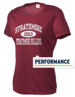 Strathmore Middle School Strathmore Bulldogs Women's Competitor Performance T-Shirt