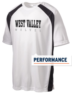 West Valley Middle School Wolves Men's Dry Zone Colorblock T-Shirt