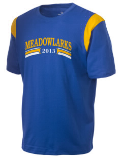 Meadowlark Elementary School Meadowlarks Holloway Men's Rush T-Shirt