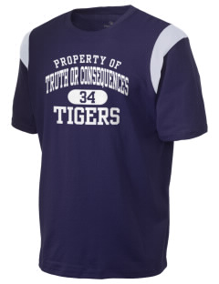 Truth Or Consequences Elementary School Tigers Holloway Men's Rush T-Shirt