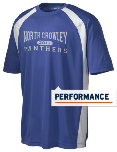 North Crowley High School Panthers Men's Dry Zone Colorblock T-Shirt