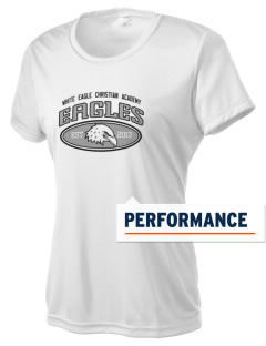 White Eagle Christian Academy Eagles Women's Competitor Performance T-Shirt