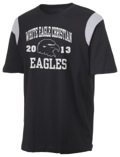 White Eagle Christian Academy Eagles Holloway Men's Rush T-Shirt