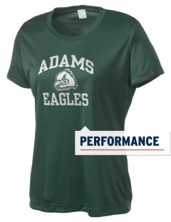 Adams Elementary School Eagles Women's Competitor Performance T-Shirt