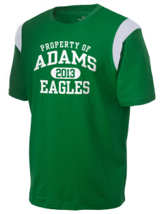 Adams Elementary School Eagles Holloway Men's Rush T-Shirt