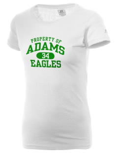 Adams Elementary School Eagles  Russell Women's Campus T-Shirt
