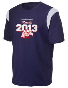 Stacy Middle School Hawks Holloway Men's Rush T-Shirt