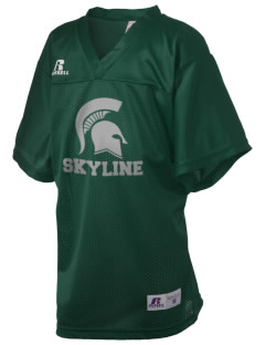 Skyline High School Spartans Russell Kid's Replica Football Jersey