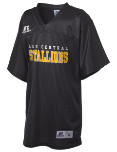 Lee Central High School Stallions Russell Kid's Replica Football Jersey