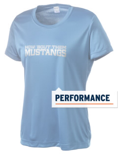Cairo-Durham Middle School Mustangs Women's Competitor Performance T-Shirt