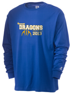 Emanuele Elementary School Dragons  Russell Men's Long Sleeve T-Shirt