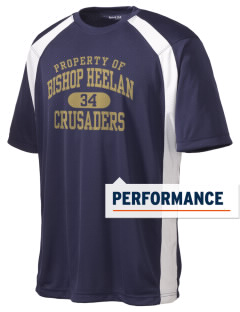 Bishop Heelan Catholic High School Crusaders Men's Dry Zone Colorblock T-Shirt