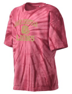 Oaks Christian School Lions Kid's Tie-Dye T-Shirt