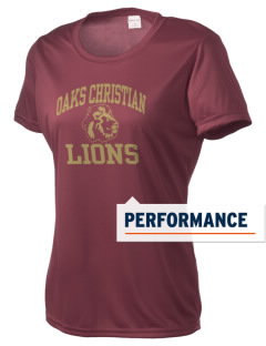 Oaks Christian School Lions Women's Competitor Performance T-Shirt