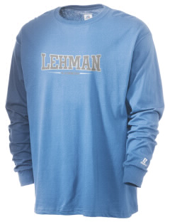 Lehman High School Lobos  Russell Men's Long Sleeve T-Shirt