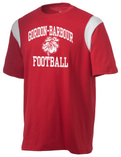 Gordon-Barbour Elementary School Bulldogs Holloway Men's Rush T-Shirt