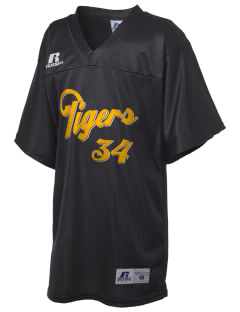 BB Comer Memorial High School Tigers Russell Kid's Replica Football Jersey