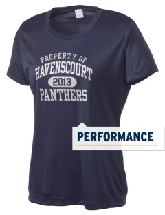 Havenscourt Junior High School Panthers Women's Competitor Performance T-Shirt