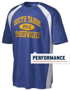 South Lake Tahoe Middle School Timber Wolves Men's Dry Zone Colorblock T-Shirt