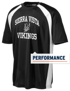 Sierra Vista Middle School Vikings Men's Dry Zone Colorblock T-Shirt