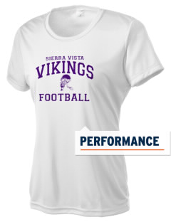 Sierra Vista Middle School Vikings Women's Competitor Performance T-Shirt
